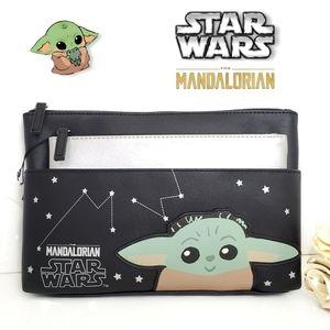 🎁 Star Wars The Mandalorian Large Cosmetic Bag
